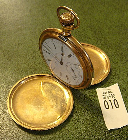 Antique Pocket Watch, Illinois Watch Co.