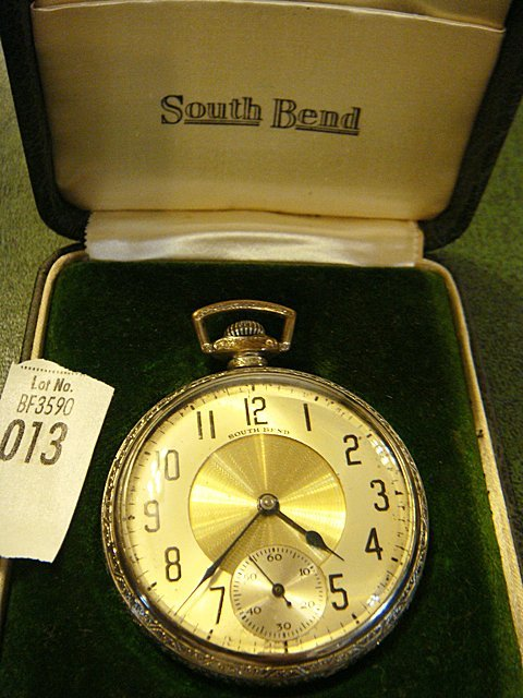 Antique Pocket Watch with Original Box