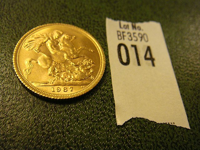 1967 Gold British Soveriegn Coin