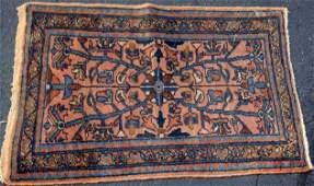 Estate Antique Persian Hamadan Hand Woven Rug