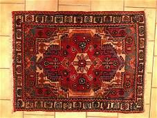 Estate Hand Woven Hamadan Persion Carpet