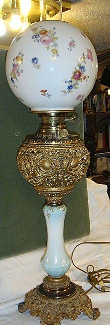 Banquet Lamp with Ball Shade