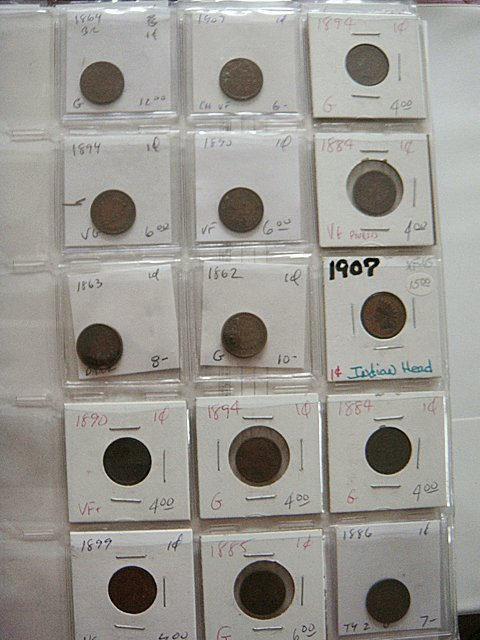15 Early Pennies