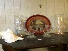 Contents of Curio Cabinet