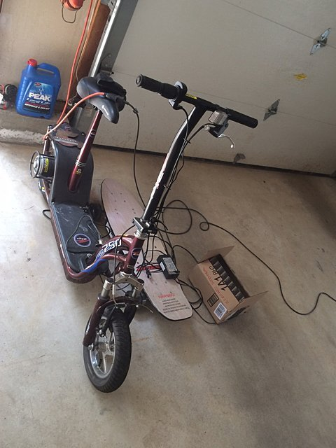 Battery Powered Scooter and Skate Board