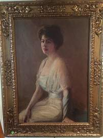 Grace Coolidge Portrait by Howard Chandler Christy
