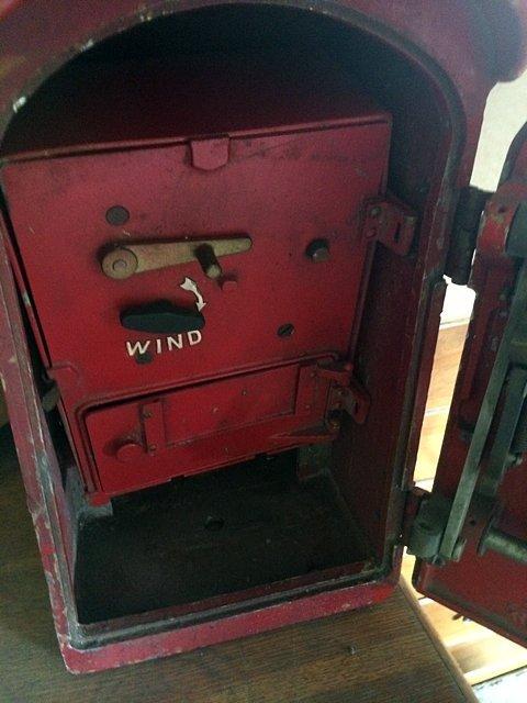 NYC Antique Fire Alarm Box - 2