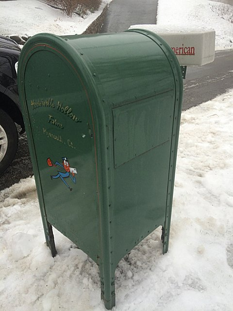 Vintage Mail Collection Box - 3