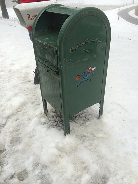 Vintage Mail Collection Box - 5