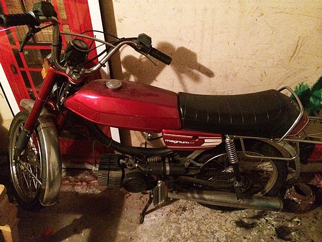 1978 Puch Magnum XK Moped