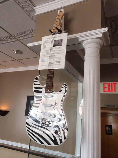 Cher Autographed Guitar - St. Jude Children's Research