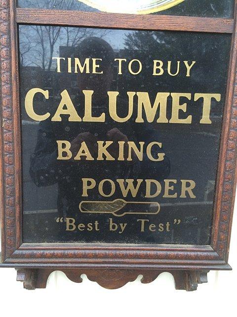 Calumet Baking Powder Clock - 2