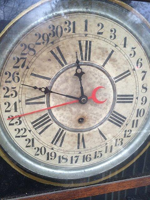 Calumet Baking Powder Clock - 3