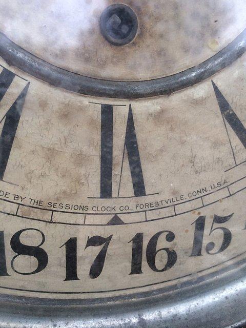 Calumet Baking Powder Clock - 4