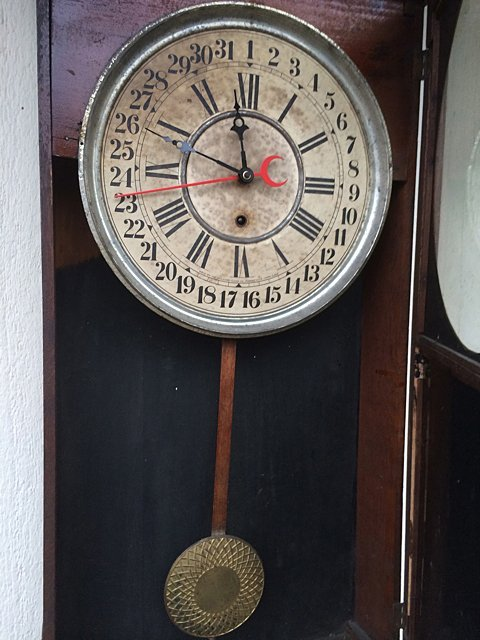 Calumet Baking Powder Clock - 6