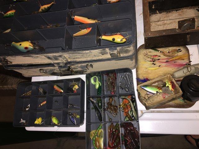 Fishing Tacklebox Lot