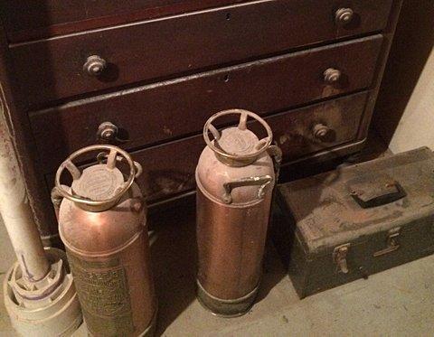 Brass Fire Extinguishers