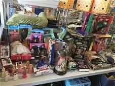 Barbie, Star Wars, Wizard of Oz Dolls