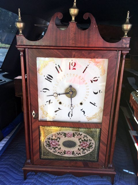 Eli Terry and Sons Pillar and Scroll Clock