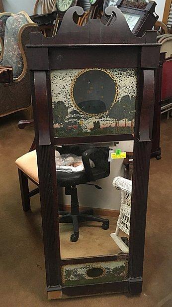 Joseph Ives Mirror Clock Case