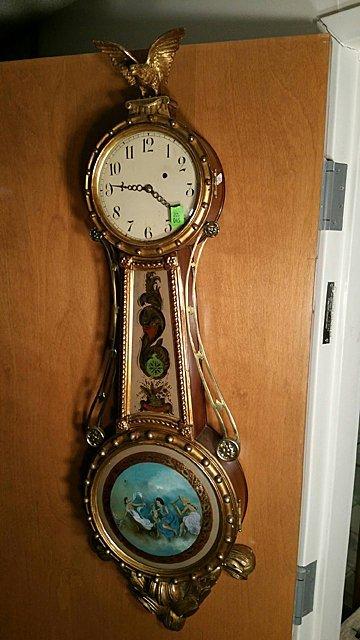 Girandole Banjo Clock