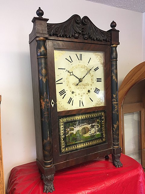 Seth Thomas Column and Splat Clock