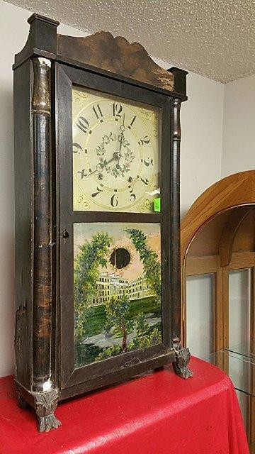 Eli Terry, Jr. Empire Shelf Clock