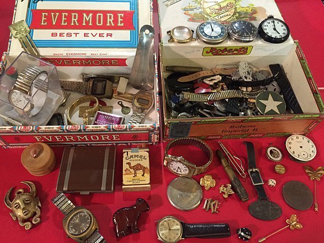 Estate Watches and Collectibles