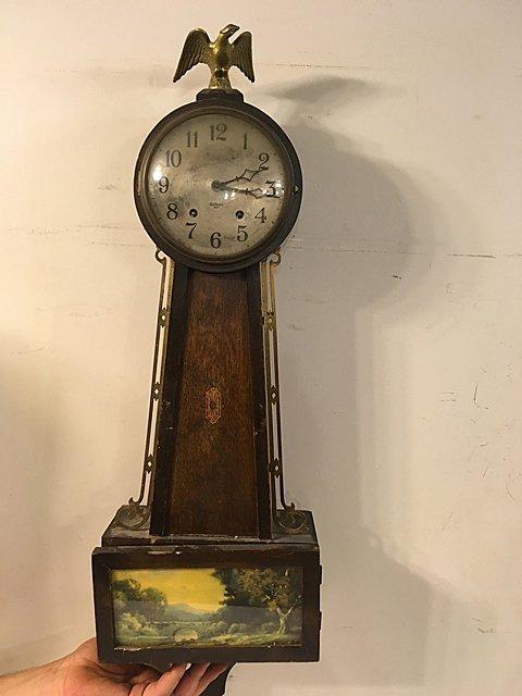 Gilbert Banjo Clock
