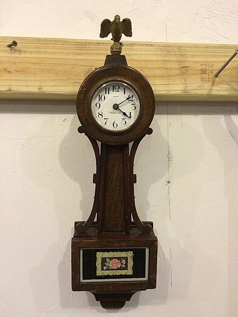 Miniature New Haven Clock Co. Banjo Clock