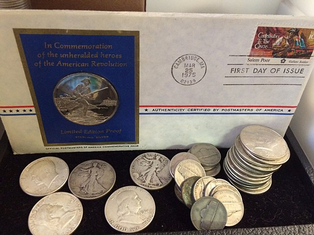 Silver Half Dollars and Nickels Coin Lot