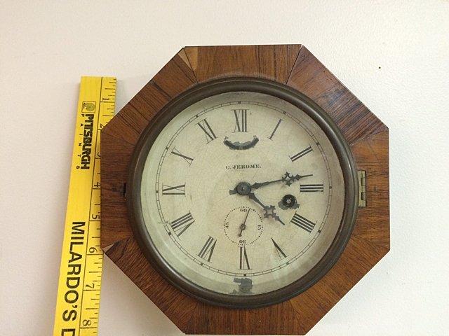 Rosewood C. Jerome Gallery Clock