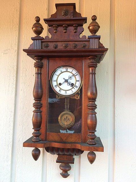 Miniature Vienna Regulator Clock