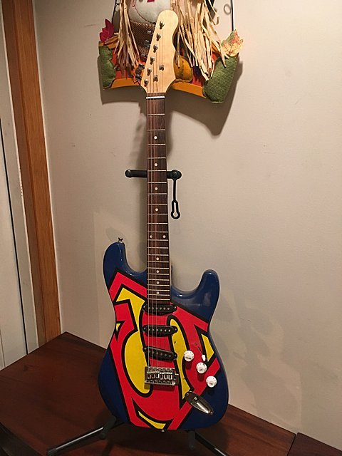 Superman Electric Guitar - St. Jude