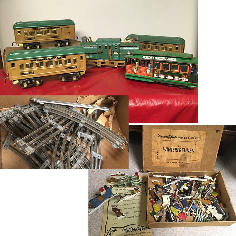 Vintage American Flyer Toy Train Set