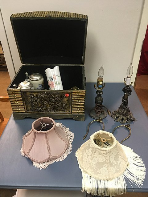 Estate Chest & Lamps - St. Jude