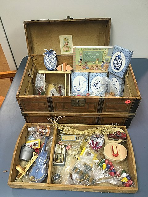 Child's Trunk and Estate Items - St. Jude