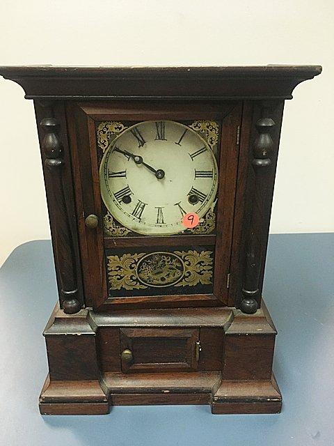 Rosewood Atkins Shelf Clock - St. Jude