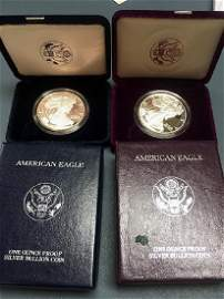 1991 and 2005 American Eagle Coins