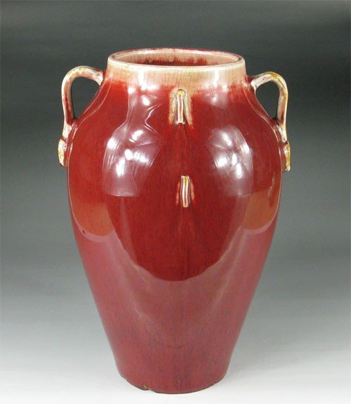 24: Chinese Ox-Blood Red Glaze  Vessel