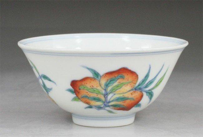 9:Chinese Doucai Porcelain Tea Cup