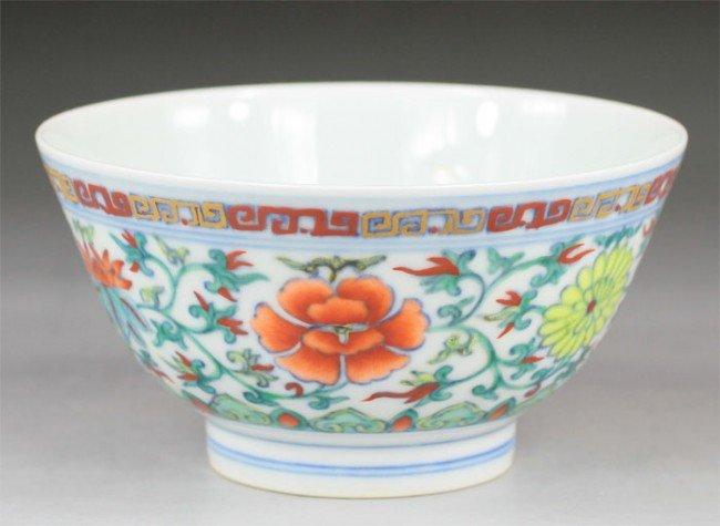 23: Chinese Doucai Bowl