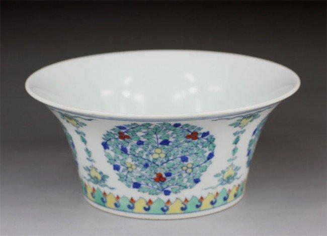 20:Chinese Doucai Porcelain Bowl