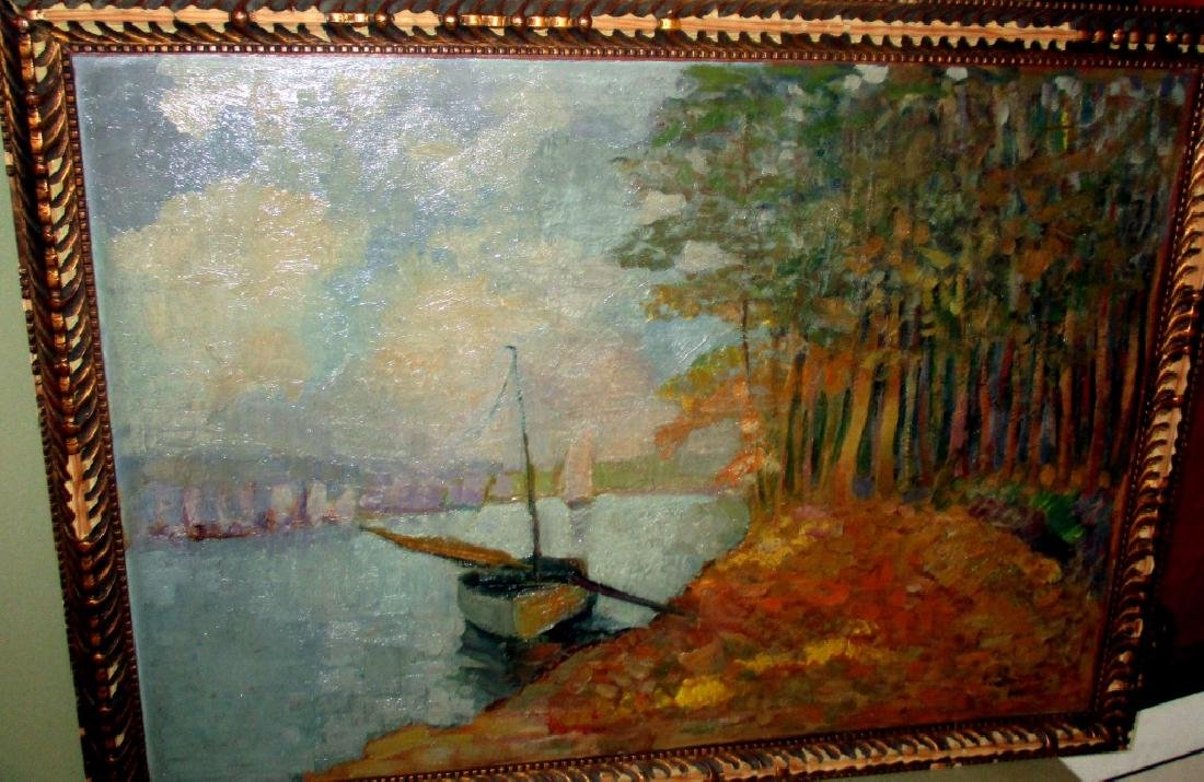 Impressionistic Painting on Board