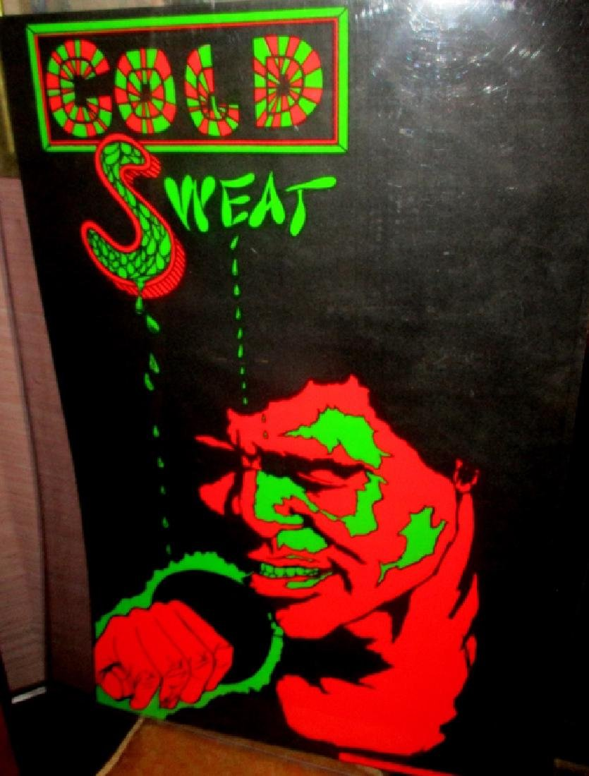 """James Brown """"Cold Sweat"""" Poster"""