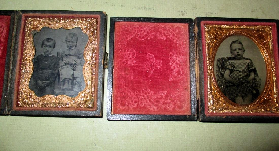 Two Victorian Ambrotypes of Children