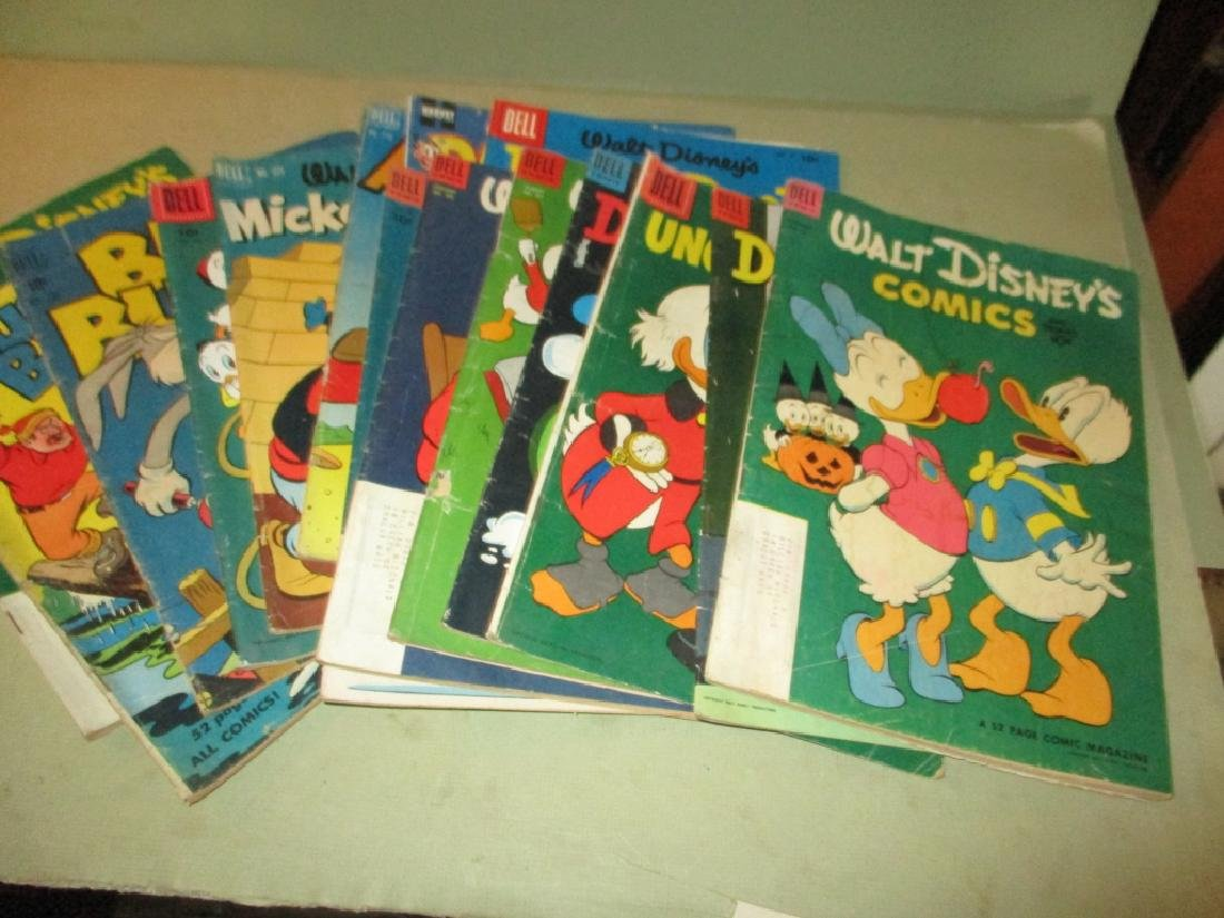 Lot of 15 Vintage Comic Books - 10 Cent Issues