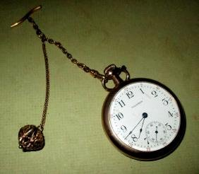 Men's Waltham Gold Filled Pocket Watch