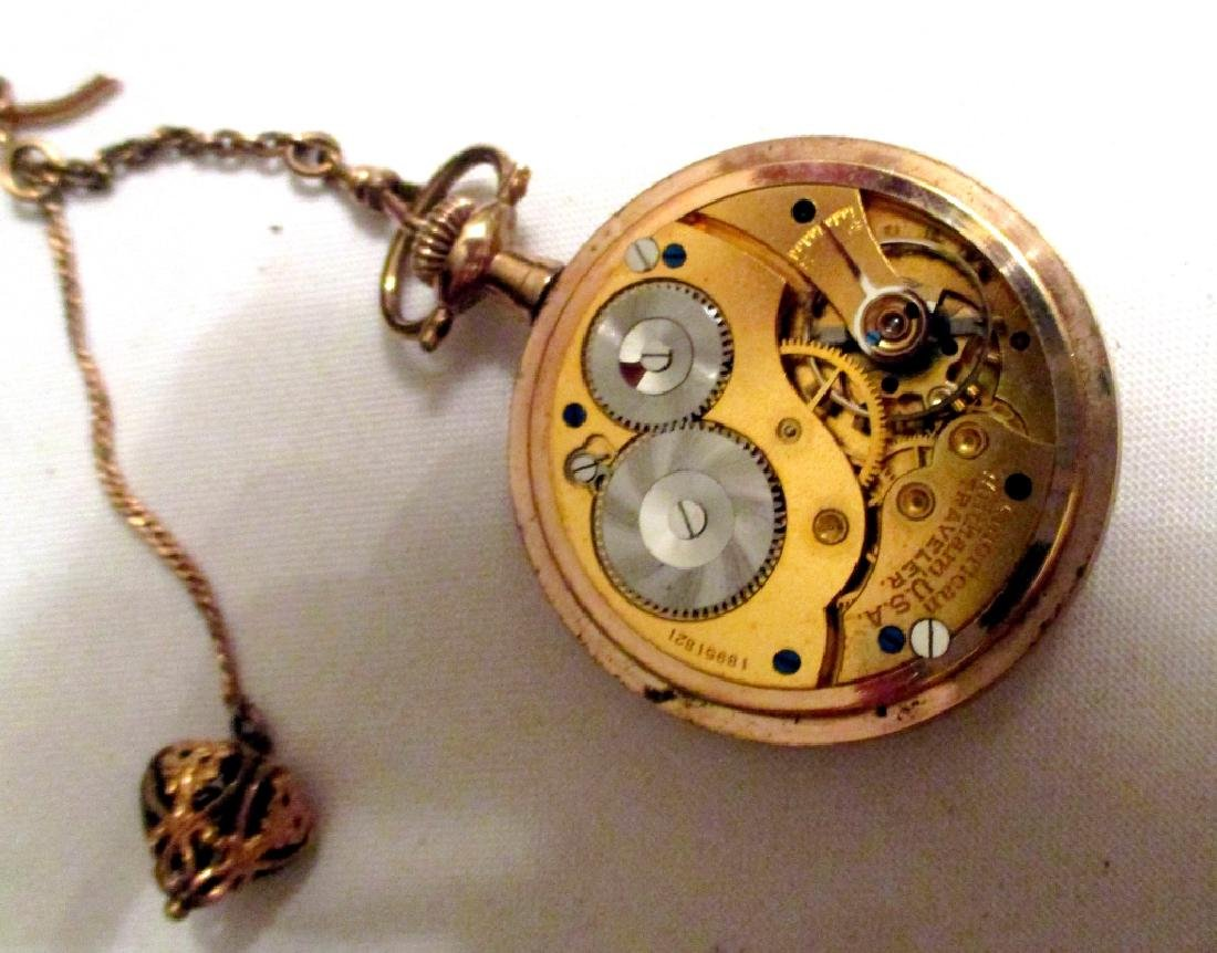 Men's Waltham Gold Filled Pocket Watch - 2
