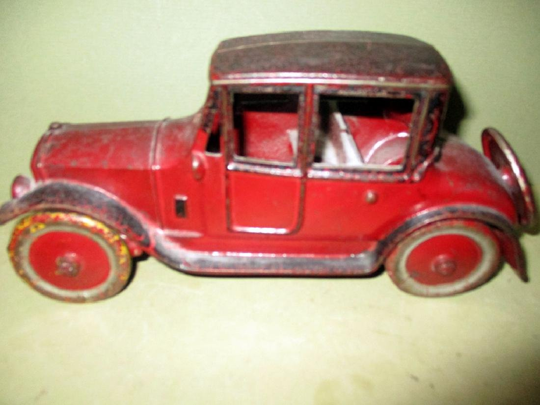 Cast Iron Toy Car Circa 1920